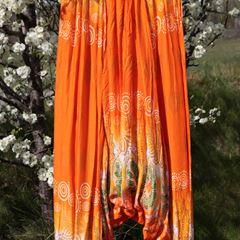 Aladdinbyxa orange